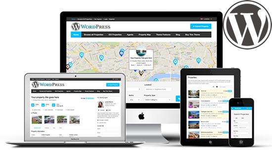 Cómo utilizar WordPress para un Diseño Web Bienes Raíces | Diseño ...
