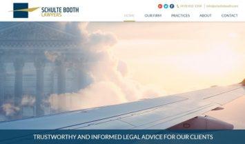 Nuestro último diseño web: Schulte Booth