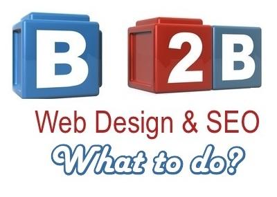 b2b diseño web