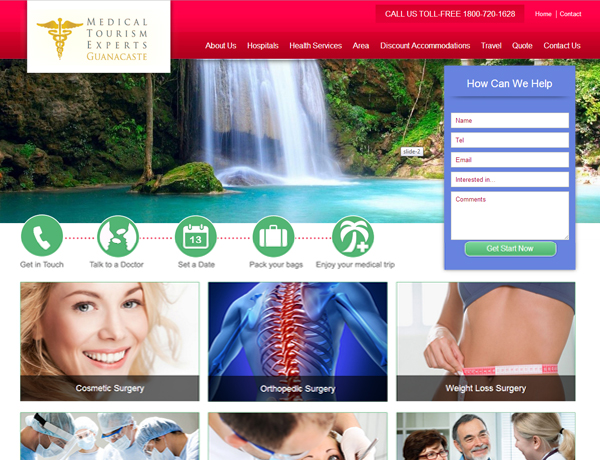 Medical tourism in Guanacaste