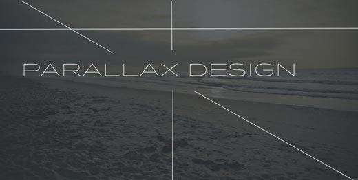 costa rica parallax web design
