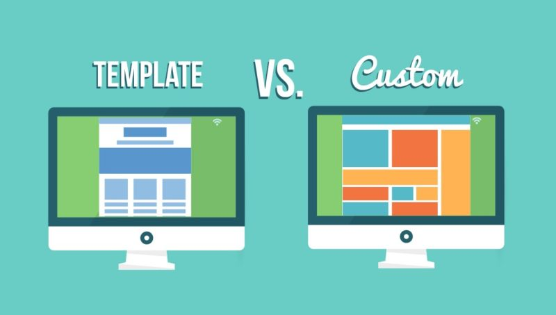 Pros And Cons Of Template Custom Websites Web Design - Wordpress custom template