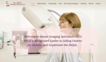 Our Latest Web Design: Breast Imaging Specialists (BIS)