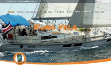 Our Latest Web Design: Kuna Vela