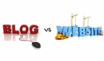 The Difference Between A Blog And A Website