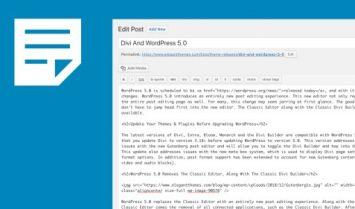 WordPress Plugin Of The Week: Classic Editor