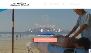 Our Latest Web Design: Massages by Elizabeth