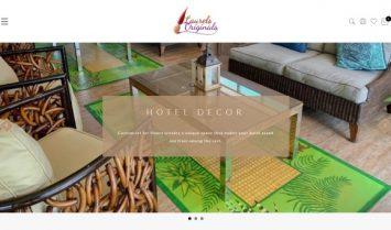 Our Latest Web Design: Laurel's Originals